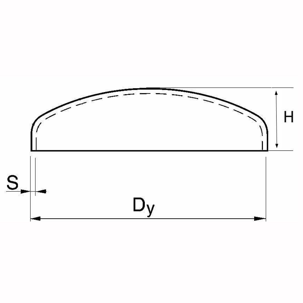 Kupad gavel ISO